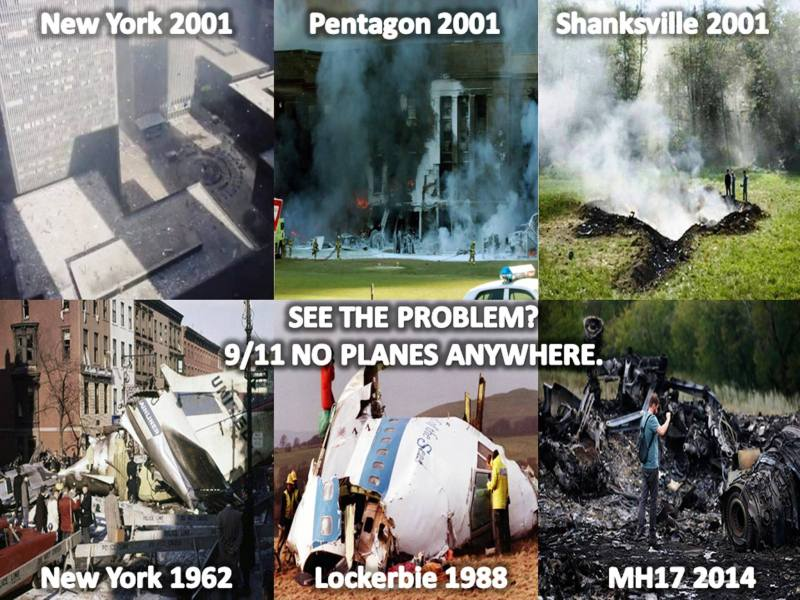 911 no plane wreckage