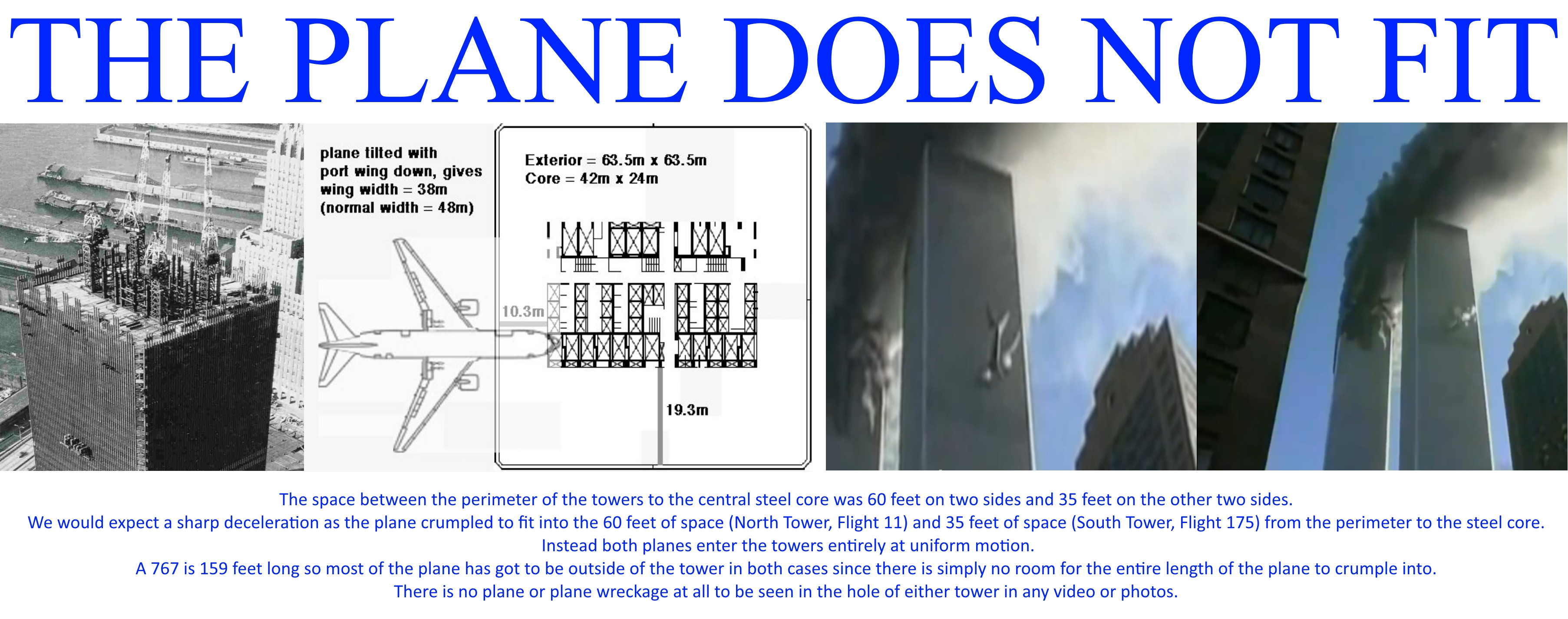 The proof that no real planes were used on 9 11 9 11 planes hoax